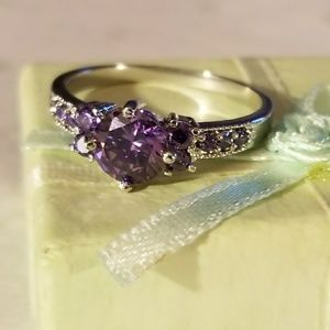 Stunning 925 Amethyst Ring